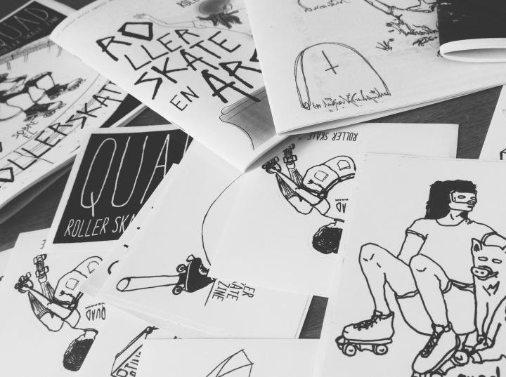 Quad – Roller skatezine